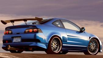Cars tuning 3d acura rsx wallpaper