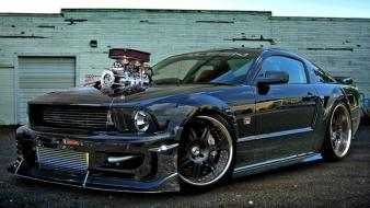 Cars tuning 3d shelby mustang wallpaper