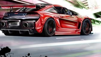 Cars tuning 3d virtual dodge ev wallpaper