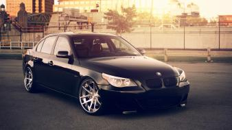 Cars tuning rims bmw 5 series wallpaper