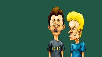 Cartoons animated beavis and butt-head wallpaper