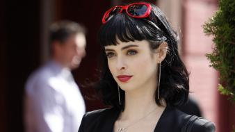 Celebrity breaking bad krysten ritter black hair Wallpaper