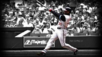 Cincinnati selective coloring reds ken griffey jr. wallpaper