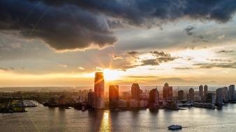 Cityscapes sunlight cities wallpaper