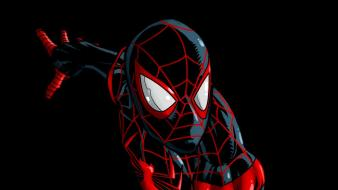 Comics spider-man superheroes marvel ultimate miles morales Wallpaper