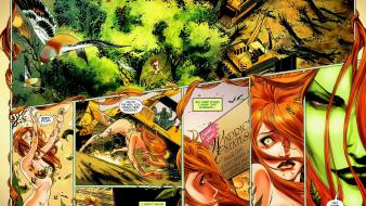 Dc comics poison ivy wallpaper