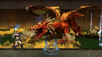 Dragons sacred wallpaper