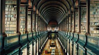 Dublin trinity library Wallpaper
