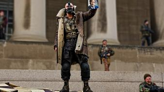 Film bane batman the dark knight rises wallpaper