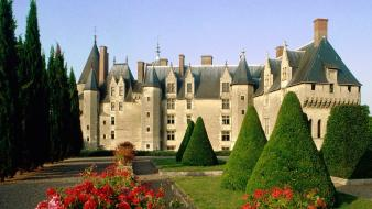 France buildings chateau de langeais cities Wallpaper