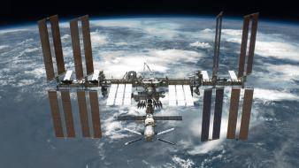 International space station after Wallpaper