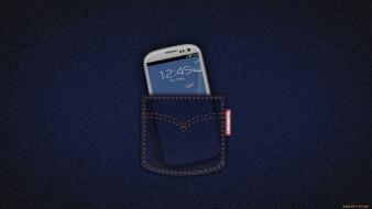 Jeans pocket smartphones samsung galaxy sii mobile siii wallpaper