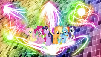 Magic elements of harmony mane 6 l33t wallpaper