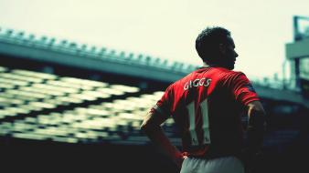 Manchester united fc ryan giggs football player wallpaper
