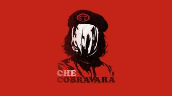 Minimalistic che funny g.i. joe cobra command wallpaper