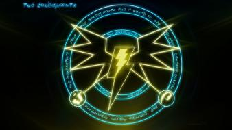 My little pony cutie mark thunderbolts wallpaper