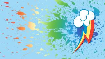 Paint my little pony rainbow dash cutie mark wallpaper