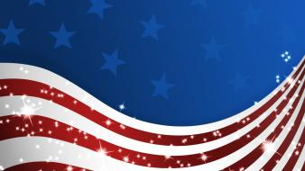Patriotic flag of america stars and stripes wallpaper