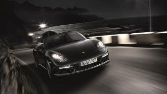 Porsche front black edition boxster s wallpaper