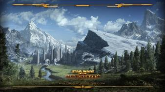 Star wars mountains landscapes wars: the old republic wallpaper