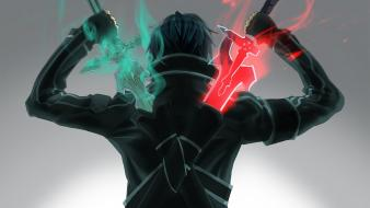 Swords black sword art online kirigaya kazuto Wallpaper