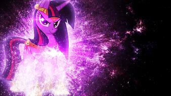 Twilight magic my little pony: friendship is wallpaper