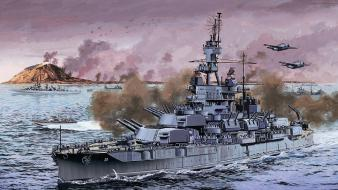 War military ships artwork battleships wallpaper