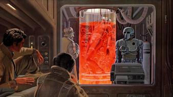 Art science fiction artwork ralph mcquarrie traditional wallpaper