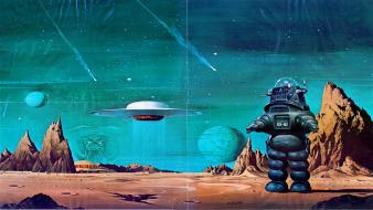 Artwork forbidden planet wallpaper