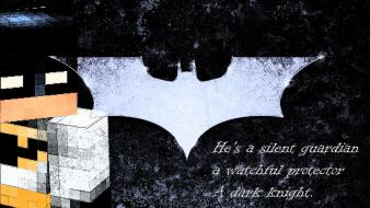 Batman dark knight quotes bat minecraft the wallpaper