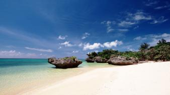Beach okinawa Wallpaper
