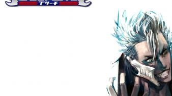 Bleach blue hair espada grimmjow jaegerjaquez white background wallpaper