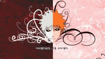 Bleach kurosaki ichigo split hollow Wallpaper