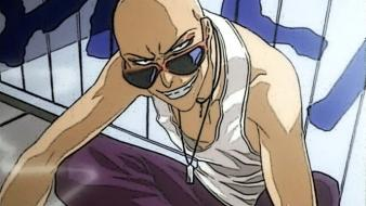 Bleach sunglasses smiling ikkaku madarame bald wallpaper