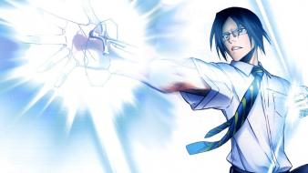 Bleach tie quincy ishida uryuu bow (weapon) wallpaper
