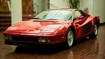 Cars ferrari testarossa Wallpaper