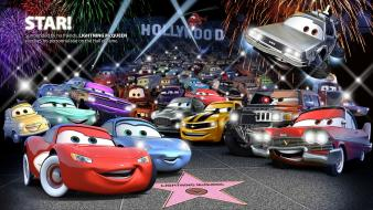 Cars hollywood widescreen wallpaper