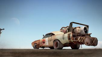 Cars mad max widescreen wallpaper