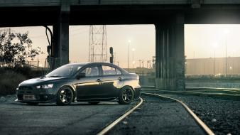 Cars mitsubishi evo wallpaper