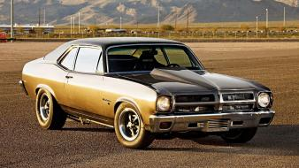 Cars muscle pontiac american widescreen wallpaper