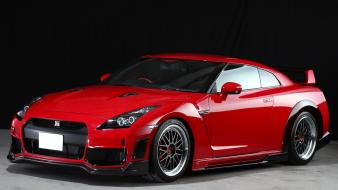 Cars nissan red gtr spec-v gt-r wallpaper