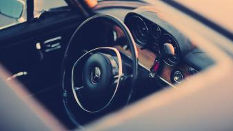 Cars steering wheel mercedes-benz wallpaper