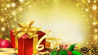 Christmas gifts normal wallpaper
