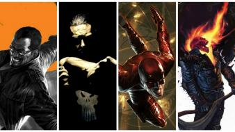 Comics ghost rider daredevil the punisher marvel wallpaper