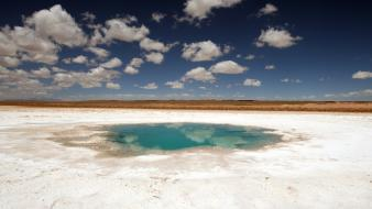 Desert argentina ponds national geographic salt flats wallpaper