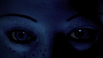 Eyes mass effect 2 liara tsoni wallpaper