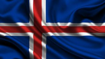 Flags iceland wallpaper