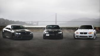 Gate bridge bmw m3 matte e92 e90 wallpaper