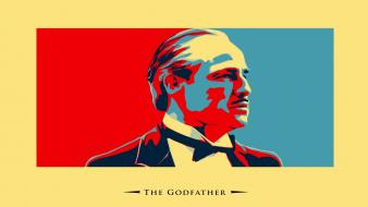 Godfather vito corleone marlon brando cosa nostra wallpaper