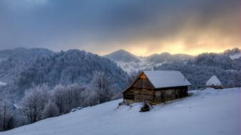 Houses romania house peaceful village sky lovely wallpaper